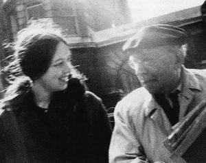 Berenice Sydney Cagnoni with Simon Guttmann
