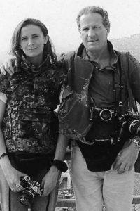 Patricia Franceschetti Cagnoni and Romano Cagnoni, Sarajevo, 1992