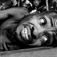 Biafra, 1970. A lorry full of wounded soldiers